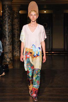 Walter Van Beirendonck Spring 2014 Menswear Collection Slideshow on Style.com