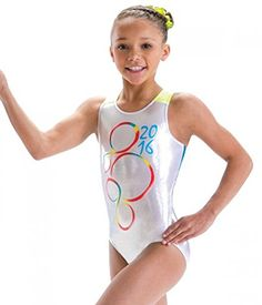 2016 Rio Gymnastics Leotard - Girls Leotard - Limited Quantities! (CL - Child Large - 10-12)