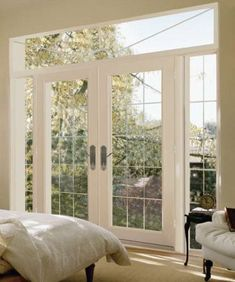 I've been looking for french doors like these for my kitchen/dining room.  Love,love,love!!!