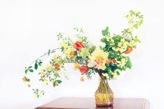 The Green Dandelion // Floral Design & Botanical Styling