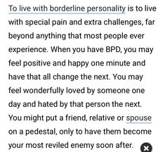 Mental Health Facts, Mental Health Counseling, Mental Health Conditions, Mental And Emotional Health, Bpd Quotes, Deep Quotes, Qoutes, Mental Disorders, Bipolar Disorder