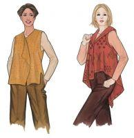 Peony & Poppy Vests Many lagenlook patterns!