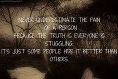 Picture Quotes On Depression | ... pain underestimating sorrow grief depressed quotes sad quotes truth