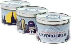 Oxford Brew: a full bodied and well-balanced blend for those with an educated palate who like their brew strong but intelligently sophisticated.