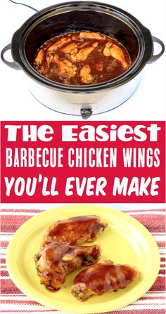 Chicken Wings Recipes for Dinner - Easy Crockpot BBQ Coke Wings! With just 3 ingredients, this will be one of the EASIEST dinners you'll make all week! Just sit back, relax, and let your slow cooker do the work for you tonight! Go grab the recipe and give it a try! Delicious Crockpot Recipes, Slow Cooker Recipes, Easy Dinner Recipes, Appetizer Recipes, Food Out, Chicken Wing Recipes, Winter Recipes, Winter Food, Popular Pins