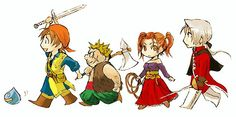 Dragon Quest VIII if you never played it fix yourself