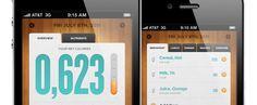 Clean looking iPhone app design