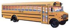 Vintage Thomas Built School Bus Graphic