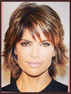 Lisa Rinna On Pinterest | Shorter Hair, Razor Cuts And Short Hair ...