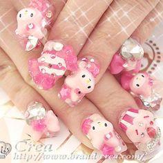 My melody nails!