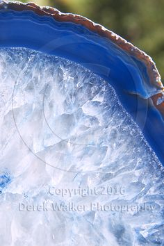 Banded blue agate. For image licensing enquiries, please feel welcome to contact me at derekwalker73@bigpond.com  Cheers :)
