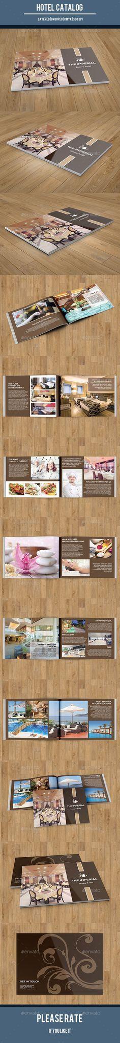 Elegance Hotel Brochure Modern Elegance Brochure Template For