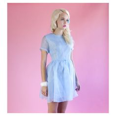 """""""The sweetest dress for your casual Cinderalla moment ☁️  {#PearlPrismFlareDress}  #Melonhopper #PrincessCasual"""""""