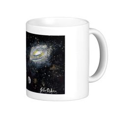 SPACE design (8) Coffee Mug  Original paintings can be found for sale through my Amazon store at: http://www.amazon.com/shops/artmatrix or you can make direct arrangements for them through me. JMO Zazzle designs: http://www.zazzle.com/thewhippingpost?rf=238063263784323237 To help an artist, you can donate here: http://www.gofundme.com/6am6lg