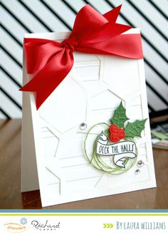 Deck the Halls card by Laura Williams {Fun Stampers Journey}