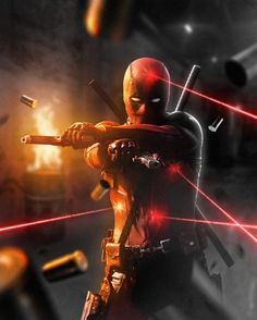 Deadpool Action by LitgraphiX