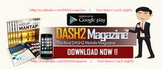 DASH2 Magazine DASH2 Magazine baru saja di launching. Majalah ini exklusive di rancang dan disajikan oleh team DASH2 yang handal guna memfasilitasi membernya dengan strategi canggih menggunakan maj…