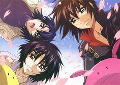 Shinn,Athrun,Kira Gundam SEED Destiny