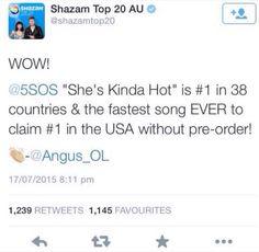 So the boys broke records yesterday