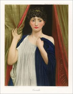 Edward John Poynter (1836-1919)  Cressida «Troilus and Cressida»