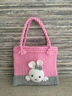 Easter Bunny Bag knitting project shared on the LoveKnitting Community