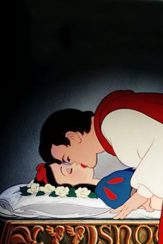 Disney's Snow White and her prince