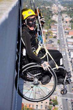 Cadeirantes super-Heróis? É o Homem-Aranha! É Batman! É uma cadeira de rodas! ~ PcD On-Line.>>> See it. Believe it. Do it. Watch thousands of spinal cord injury videos at SPINALpedia.com