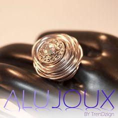 AluJoux spacer bead ring