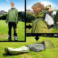 JakPak  This would be good for a lot of outdoor enthusiasts, as part of their survival gear.