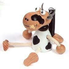 Happy cow mobile toy