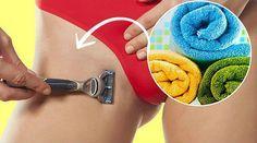 Truque da toalha antes de raspar pelos da virilha garante resultado muito mais bonito - Bolsa de Mulher