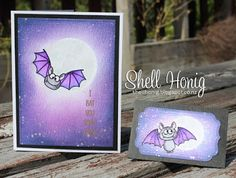 Gerda Steiner Bats Zig Clean Color Markers Distress Ink Shell Honig Cards