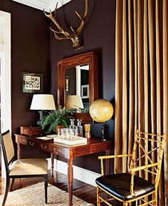 Google Image Result for http://eclecticrevisited.files.wordpress.com/2011/12/home-office-decoraitng-ideas-antlers-chocolate-brown-decor.png%3Fw%3D467