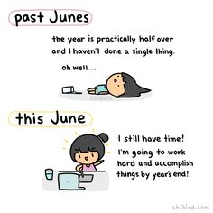 Happy June everyone! It be used to be kind of scary to me how fast the years would fly by… but I'm going to make the best of the year I have left! :D Glass half full kind of thinking! Accomplish those...