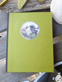 Peter Pan Antiqued Journal by wanderingmermaid on Etsy