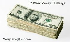 Save Money the Easy Way with the 52 Week Money Challenge