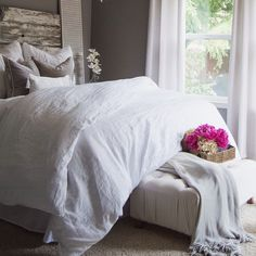 I want the big, fluffy white comforter