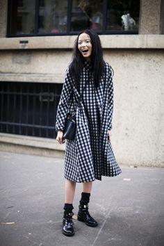 Street Style: Lady Shoes In Winter   Popbee - a fashion, beauty blog in Hong Kong.