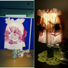 Voillaa!! My Table Lamp Artwork #2