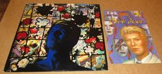 David Bowie – Tonight LP VINYL with promo Sticker and O.O.P Bowie Comic Book