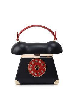88993947b9 Novelty Telephone Shaped Evening Bag  CLICK!  clothing