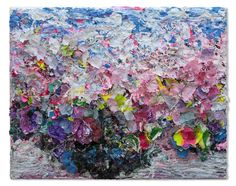 Zhuang Hong Yi  Untitled   Rice paper and acrylic on canvas  120 x 150 cm www.tournemine.com