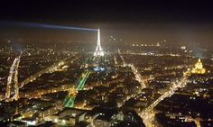 Tutto lo splendore della Tour Eiffel dalla Tour Montparnasse. Foto ricordo by fan © Francesco Zampieri‎ Tour Montparnasse, Tour Eiffel, Tours, Concert, Recital, Eiffel Towers, Concerts