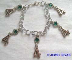 LUCKY NUMBER 4 - $7.50 - www.madeit.com.au/JewelDivas