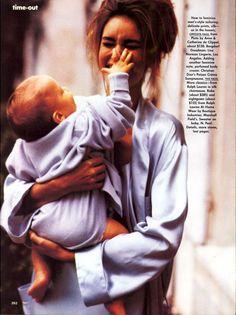 ☆ Susan Holmes | Photography by Ellen von Unwerth | For Vogue Magazine US | January 1991 ☆