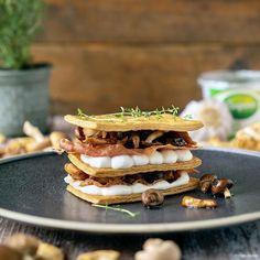 Wild Mushrooms, Stuffed Mushrooms, Italian Ham, Blue Cheese, Bruschetta, Starters, Waffles, Lunch, Snacks