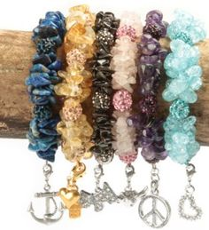 How to make Bracelet - Cherish Charm  - DIY Craft Project with instructions from Craftbits.com