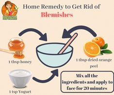 Get rid of blemishes and acne scars with this 3-ingredient homemade face mask.
