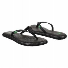 THE BEST flip flops around! Sanuk flip flops are made from yoga mats. COMFY!