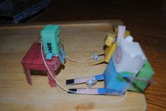Papercraft by Logan by Fred Seibert, via Flickr